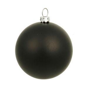Black 8-Inch UV Matte Ball Ornament