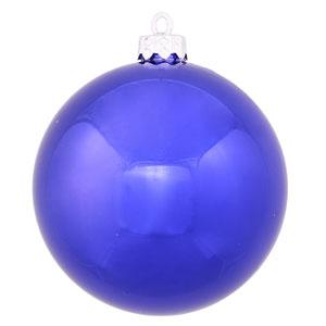 Cobalt Blue 8-Inch UV Shiny Ball Ornament