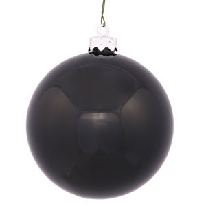 Black 10-Inch UV Shiny Ball Ornament