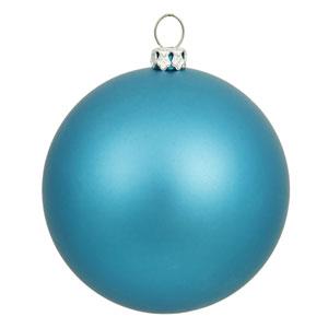 Turquoise 12-Inch UV Matte Ball Ornament