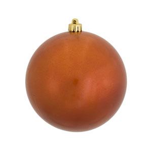 Burnish Orange 12-Inch UV Candy Ball Ornament