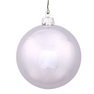 Silver 16-Inch UV Shiny Ball Ornament