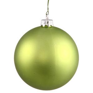 Lime 16-Inch UV Matte Ball Ornament