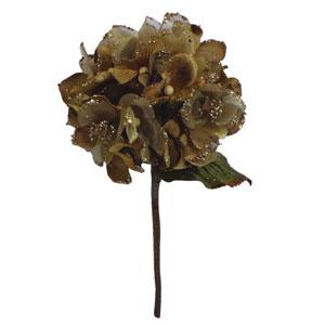 Gold Velvet Hydrangea Flower