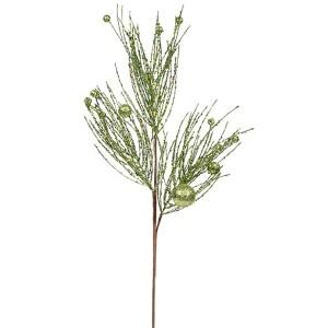 Green 29-Inch Pine Ball Spray