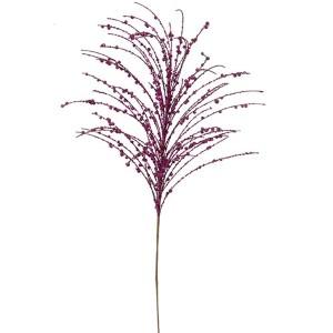 Purple 28-Inch Glitter Berry Spray