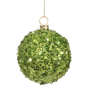 Lime Ball Ornament 120mm