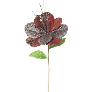 Mocha Amaryllis Flower, Set of Six