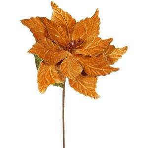 Copper Poinsettia, Set of Six