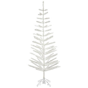 7 Ft. Silver Feather Tree
