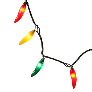Multicolor 48-Inch Chili Pepper Light Set