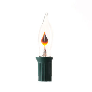 Flicker Flame Christmas Light Set with 10 Lights
