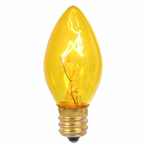 Yellow C7 5W Lights Bulbs C7/E12