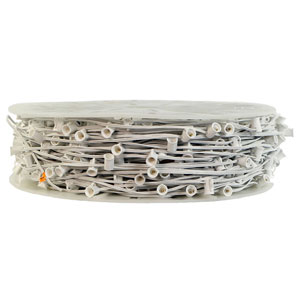 White 1000 Foot C7 Socket Wire