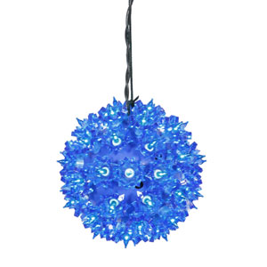 Blue Twinkle Star Sphere with 150 Lights
