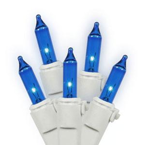 100 Light Blue String Set
