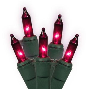 Purple Light Set 100 Lights