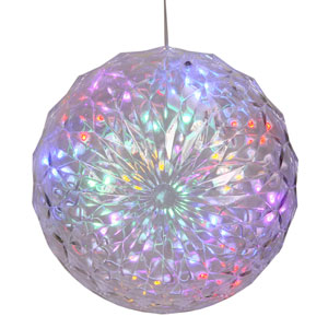 Multicolor LED Crystal Ball Light with 30 Lights