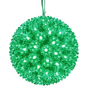 100 Light LED Green Starlight Sphere String