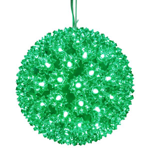 150 Light LED Green Starlight Sphere String