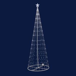 Warm White LED 200 Light Show Tree