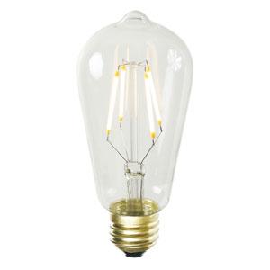 ST58 WmWht LED Filament 3.2W Bulb
