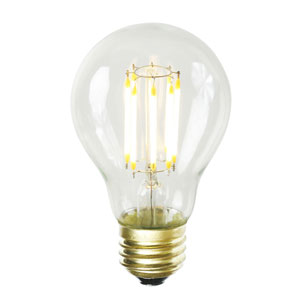 A19 Warm White LED Filament 7W E26 Bulb