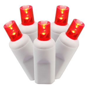 100 Light LED Red Light Set