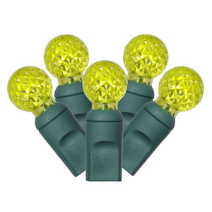 Lime 25 Foot LED Light Set with 50 Lights