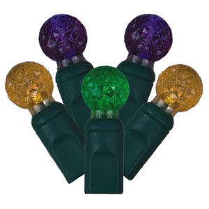 Mardi Gras LED Light Set with 50 Lights