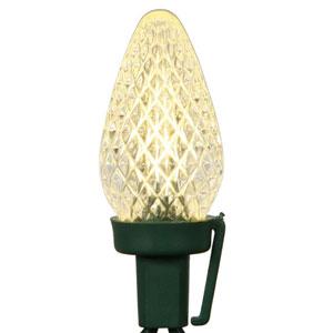 25 Light Warm White C7 LED Light Set