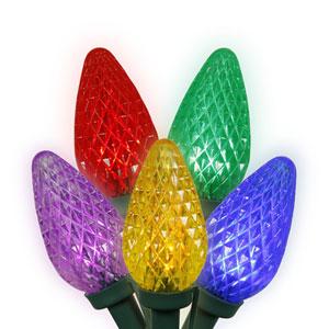 25 Light Multi Colored C9 LED Light Set
