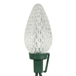 25 Light Pure White C9 LED Light Set