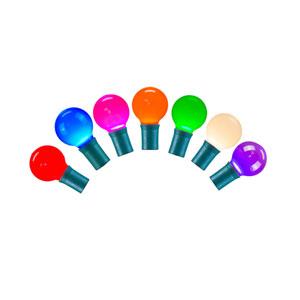 Multicolor LED Ceramic Light Set with 25 Lights