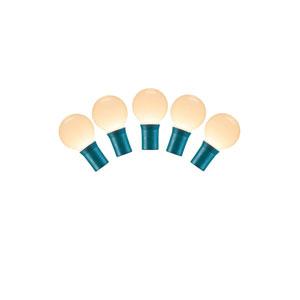 Warm White LED Ceramic Light Set with 25 Lights