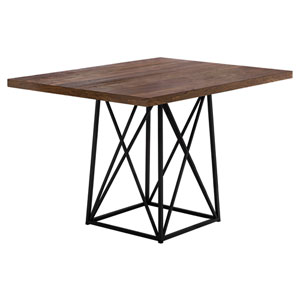 Brown 36-Inch Dining Table