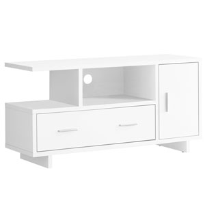 White 47-Inch TV Stand
