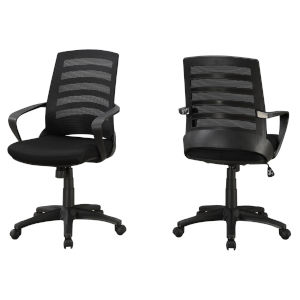 Black 38-Inch Multi Position Office Chair