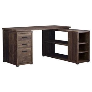 Brown 47-Inch Computer Desk