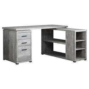 Gray 47-Inch Computer Desk