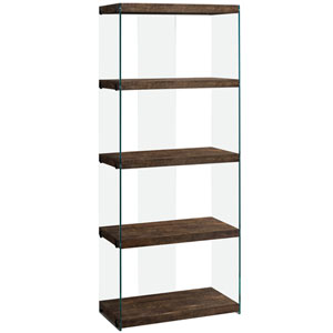Brown 12-Inch Bookcase