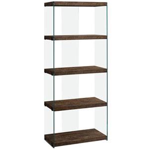 Brown 12-Inch Bookcase