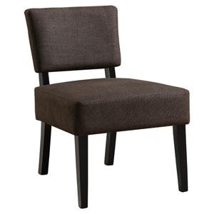 Dark Brown 32-Inch Accent Chair