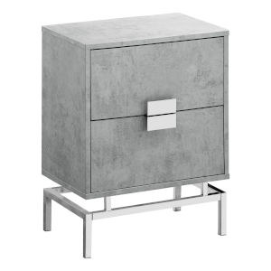 Abbott Gray 13-Inch End Table