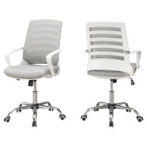 Abbott White 39-Inch Office Chair
