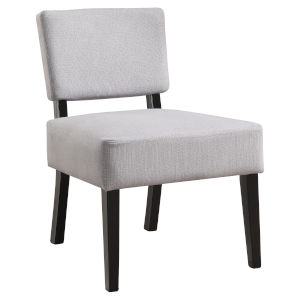 Abbott Gray 32-Inch Armless Chair