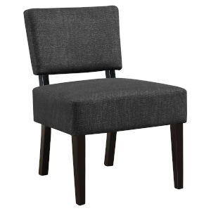 Abbott Dark Gray 32-Inch Armless Chair