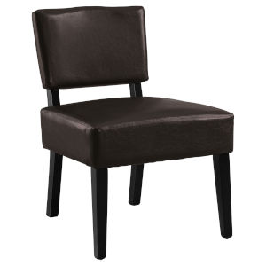 Abbott Brown 32-Inch Armless Chair