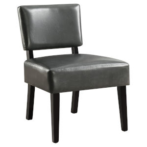 Abbott Charcoal 32-Inch Armless Chair