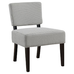 Abbott Light Gray 32-Inch Armless Chair